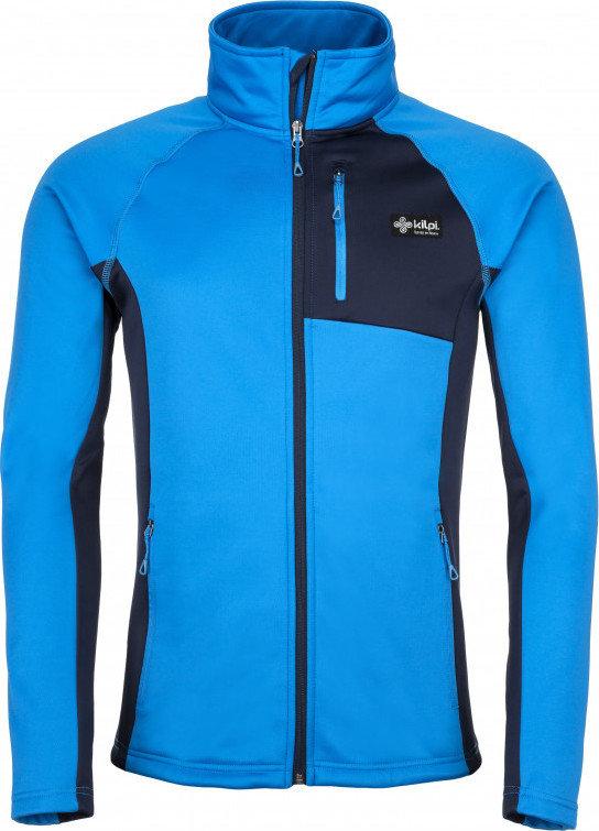Modrá pánská lyžařská mikina bez kapuce Kilpi - velikost S