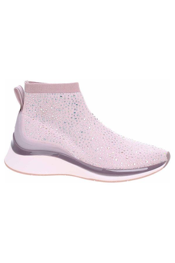 Růžové dámské kotníkové boty Tamaris - velikost 39 EU