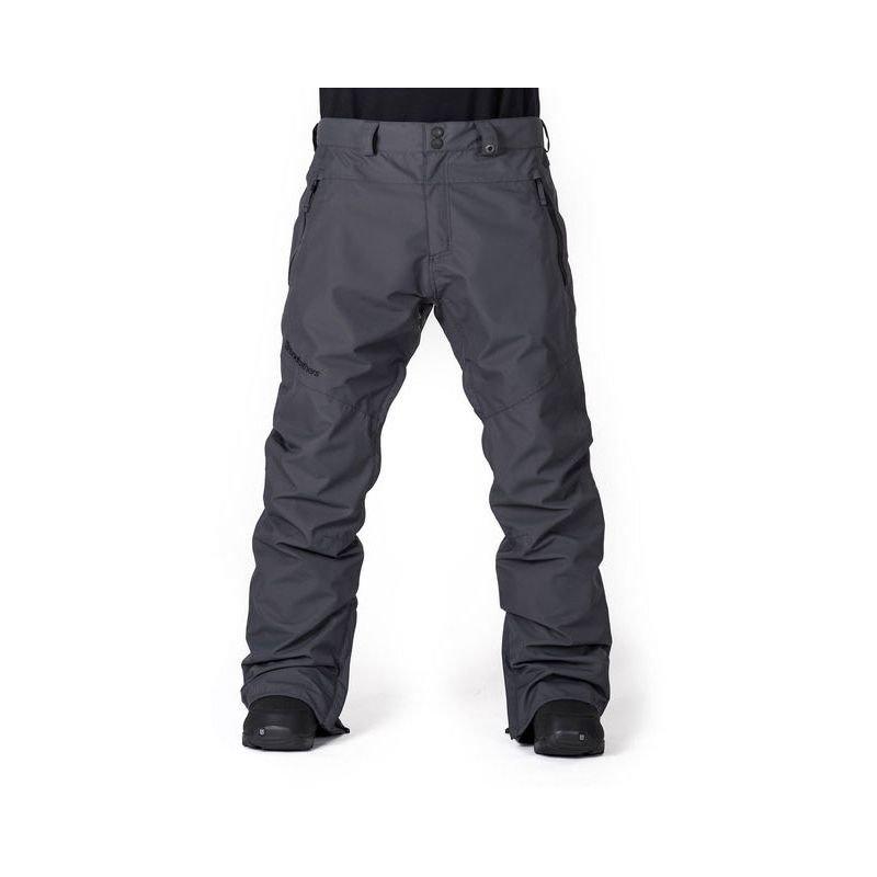 Šedé pánské snowboardové kalhoty Horsefeathers - velikost XL