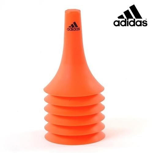 Oranžový tréninkový kužel Adidas - 6 ks