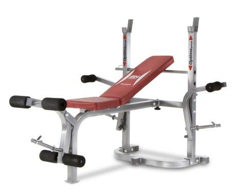 Multifunkční posilovací lavice Optima Flex, BH Fitness