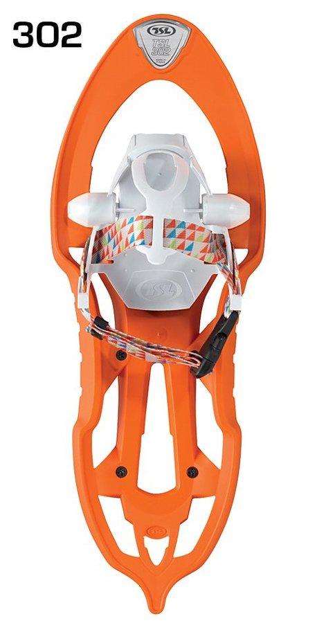 Oranžová dětská sněžnice TSL - délka 48,5 cm
