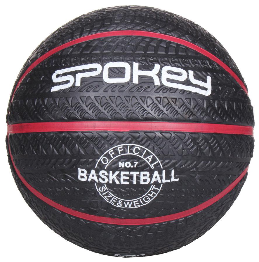 Černý basketbalový míč Magic, Spokey - velikost 7