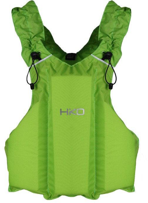 Zelená dětská plovací vesta Hiko