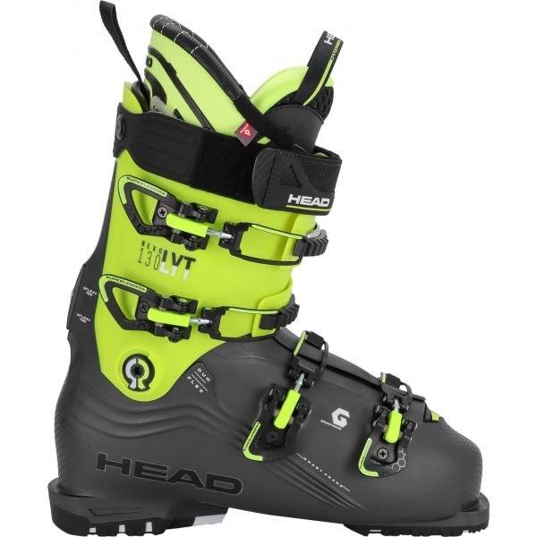 Šedo-zelené pánské lyžařské boty Head