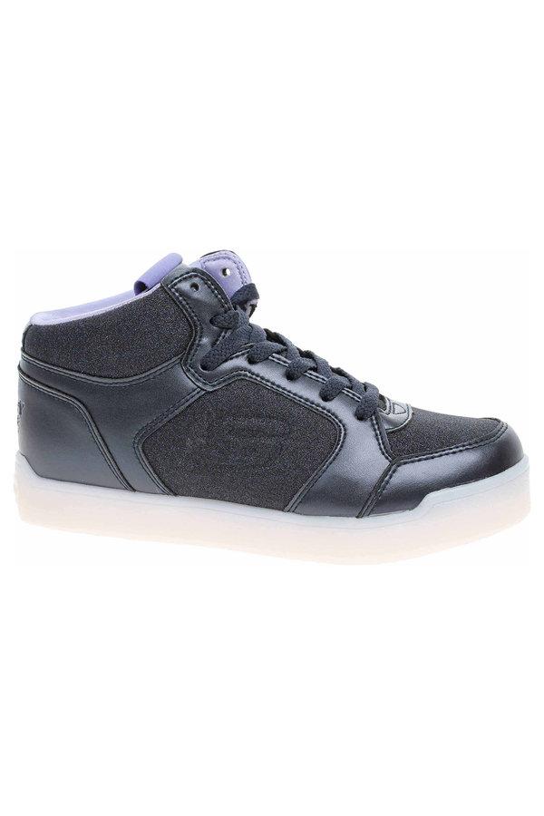Modré dívčí kotníkové boty Skechers - velikost 33 EU