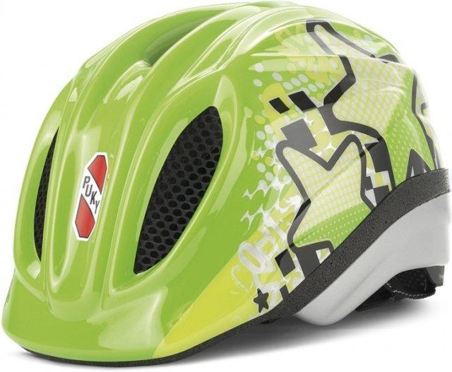 Cyklistická helma - PUKY - Přilba - kiwi - velikost S / M