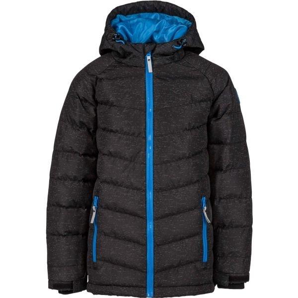 Černá dětská zimní bunda Lewro