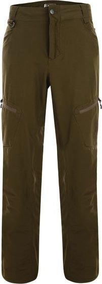 Zelené nepromokavé pánské turistické kalhoty Dare 2b