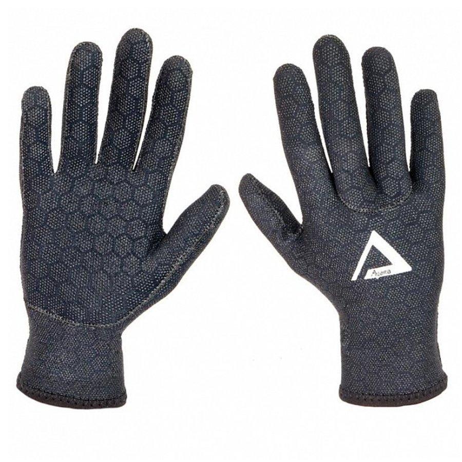Černé neoprenové rukavice Superstretch, Agama - velikost XL