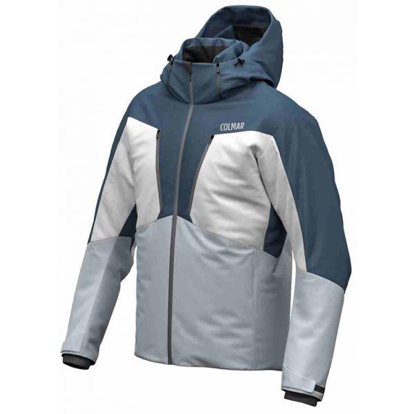 Bílo-modrá pánská lyžařská bunda Colmar - velikost 58
