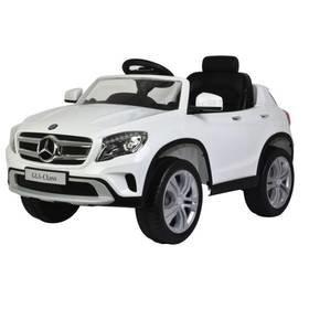 Bílé dětské elektrické autíčko Mercedes-Benz GLA, Buddy Toys