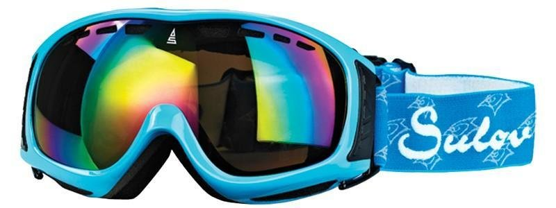 Modré lyžařské brýle Sulov