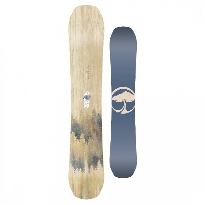 Snowboard bez vázání Arbor - délka 155 cm