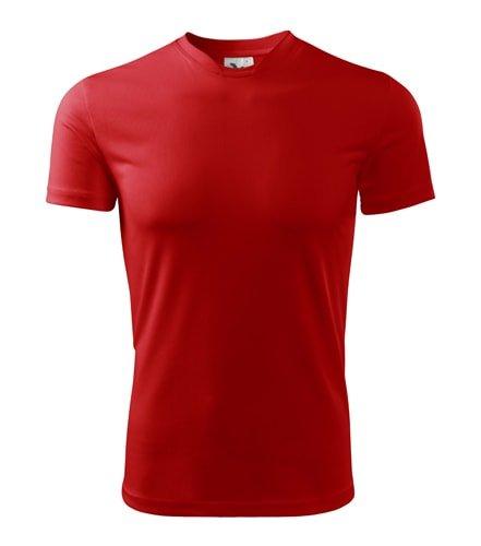 Červené pánské tričko s krátkým rukávem Adler - velikost S