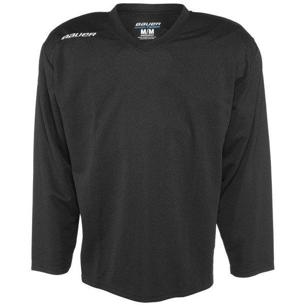 Černý tréninkový hokejový dres - youth Bauer - velikost L