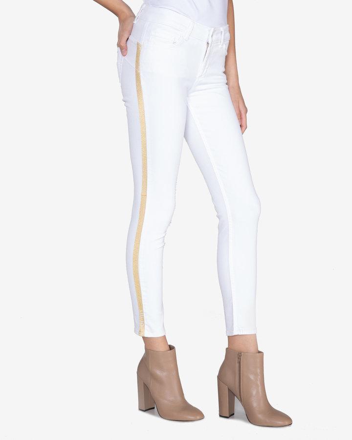 Bílé dámské džíny Liu Jo - velikost 30
