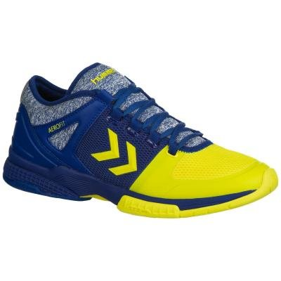 Modro-žluté boty na házenou Hummel