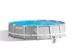 Bazénový set - INTEX Prism Frame Pools 4.27 x 1.07m 26720NP