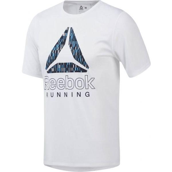 Bílé pánské běžecké tričko Reebok