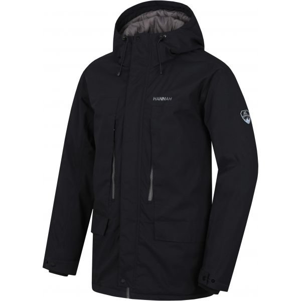Černý zimní pánský kabát Hannah