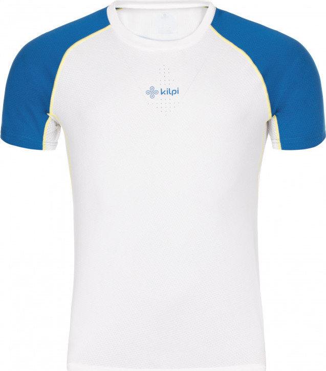 Bílé pánské běžecké tričko Kilpi