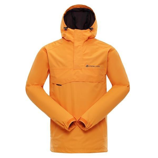 Oranžová pánská bunda Alpine Pro - velikost XL
