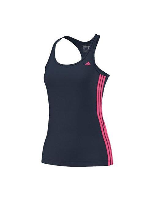 Modro-růžové dámské tílko Adidas