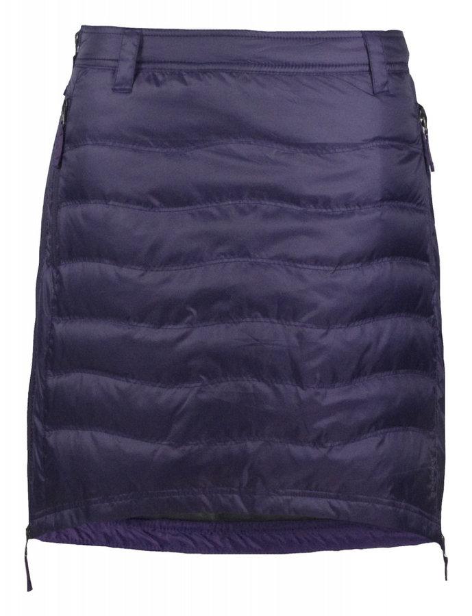 Fialová dámská sukně na běžky Skhoop - velikost S