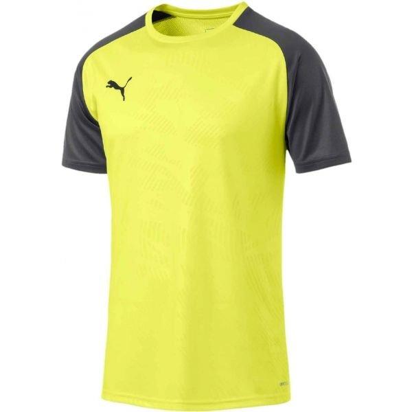 Černo-žlutý fotbalový dres Puma
