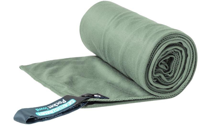 Ručník - Ručník Sea to Summit Pocket Towel M Barva: šedá