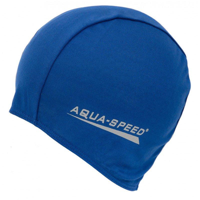 Modrá pánská nebo dámská plavecká čepice Aqua-Speed