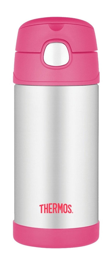 Růžová termoska Funtainer, Thermos