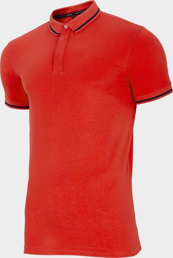 Červené pánské tričko s krátkým rukávem Outhorn