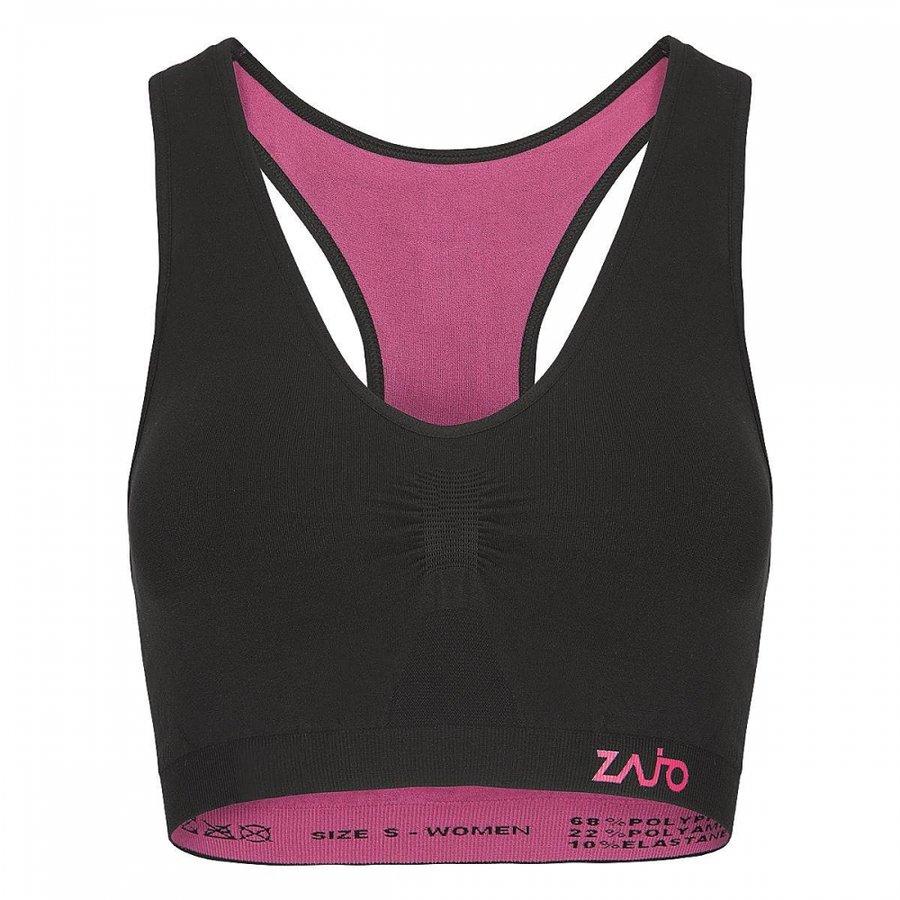 Černá sportovní dámská podprsenka Zajo - velikost XL