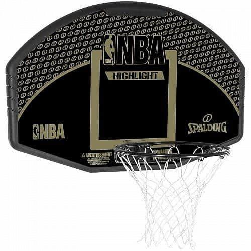 Basketbalový koš - Basketbalový koš NBA HIGHLIGHT BACKBOARD FAN Spalding