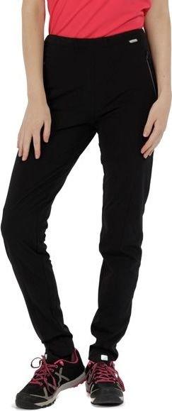 Černé dámské turistické kalhoty Regatta - velikost 36