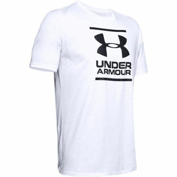 Bílé pánské tričko s krátkým rukávem Under Armour