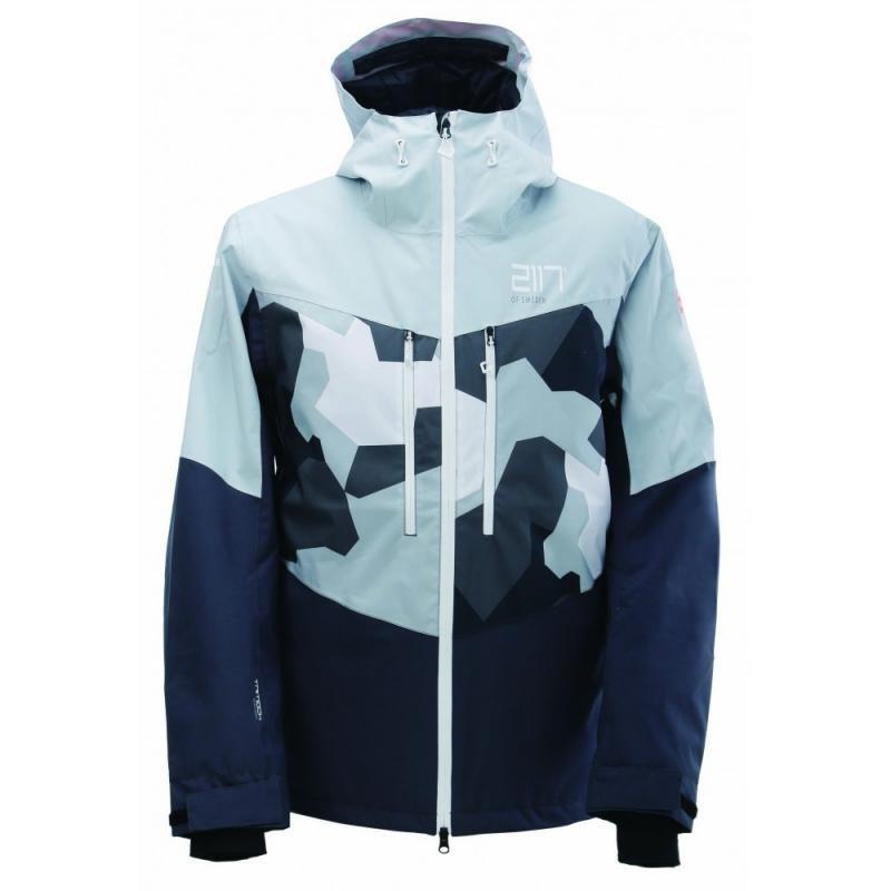 Modrá pánská lyžařská bunda 2117 of Sweden - velikost M