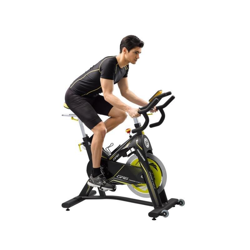 Magnetický cyklotrenažér GR6, HORIZONFITNESS - nosnost 136 kg