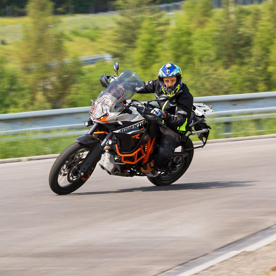 Černé pánské motorkářské kalhoty Rusnac NF-2607, W-TEC - velikost XXL