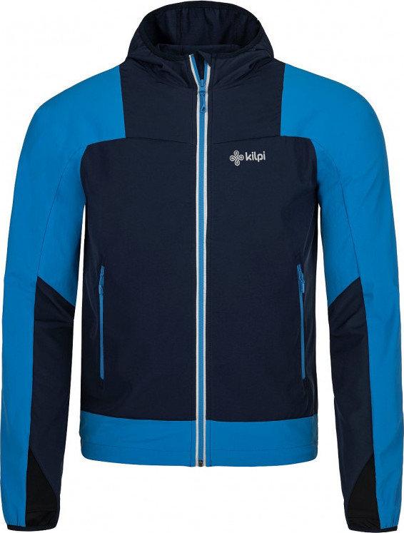 Černo-modrá pánská cyklistická bunda Kilpi