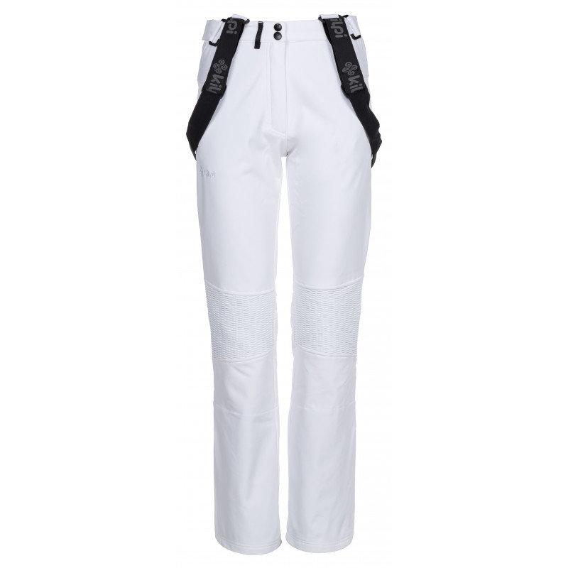 Bílé dámské lyžařské kalhoty Kilpi