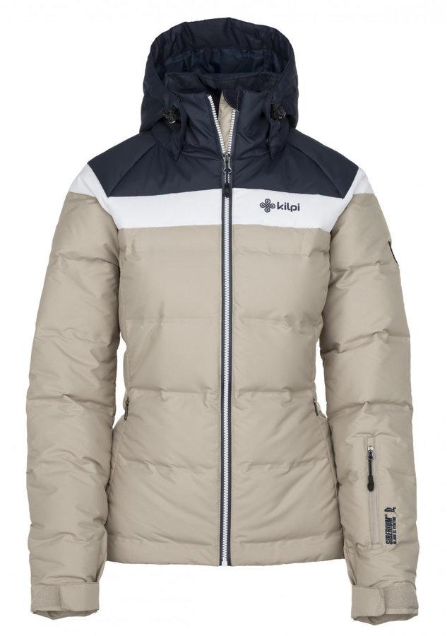 Šedá dámská lyžařská bunda Kilpi - velikost L