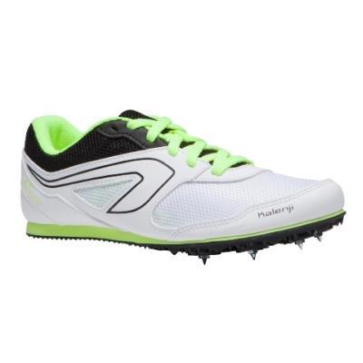 Bílo-zelené atletické tretry univerzální AT START, Kalenji - velikost 47 EU