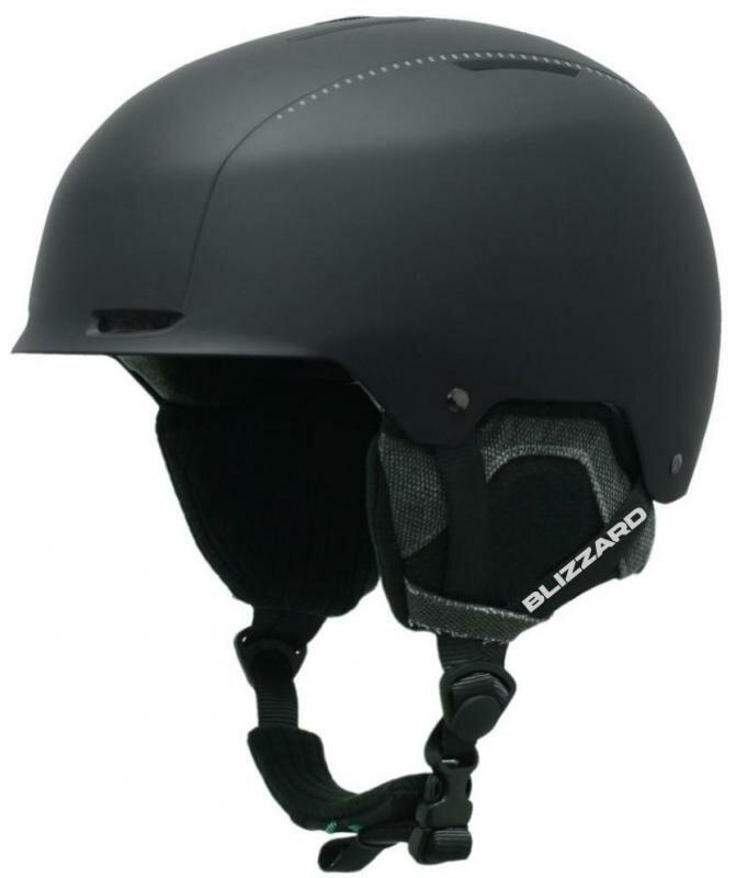 Černá lyžařská helma Blizzard - velikost 55-59 cm