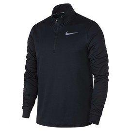 Černé pánské tričko s dlouhým rukávem Nike