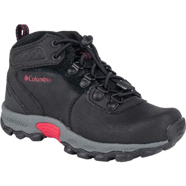 Černé dětské zimní boty Columbia