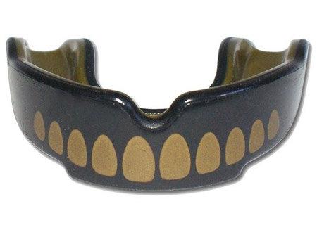 Zlatý chránič na zuby na hokej SAFEJAWZ