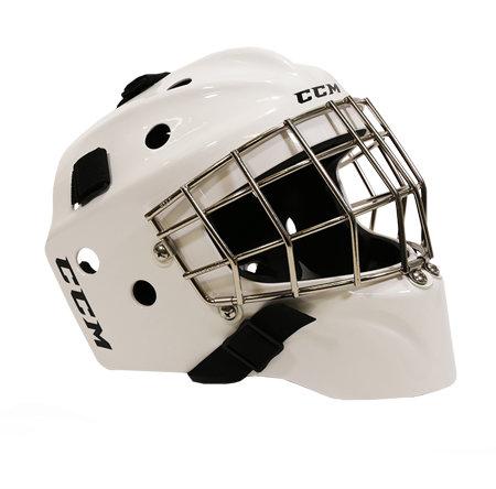 Brankářská maska - Maska CCM 1.5 Yth bílá